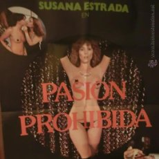 Cine: CARTEL DE CINE PASION PROHIBIDA SUSANA ESTRADA CLASIFICADA S. Lote 47915542
