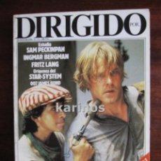 Cine: DIRIGIDO POR Nº 111 ENERO 1984. SAM PECKINPAH, INGMAR BERGMAN, FRITZ LANG, ETC C3. Lote 47918234