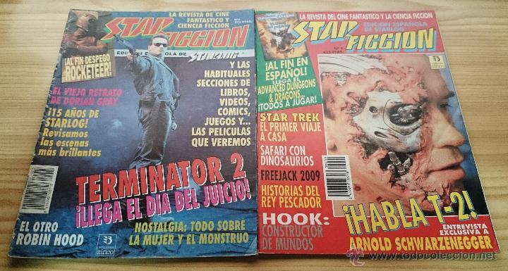 STAR FICCION - 2 EJEMPLARES - NÚMEROS 5 Y 9 (Cine - Revistas - Star Ficcion)