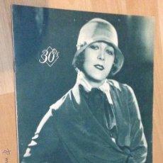 Cine: REVISTA POPULAR FILM.NUMERO 172 NOVIEMBRE 1929. Lote 41679979