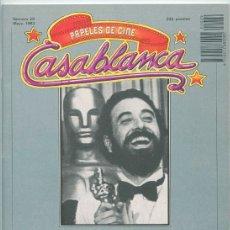 Cine: PAPELES DE CINE CASABLANCA - Nº 29 - 1983 - IMAGFIC 83, ROGER CORMAN, JAIME CHÁVARRI, JESSICA LANGE. Lote 48147617