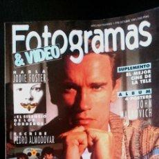 Cine: Nº1778 OCTUBRE 1991. Lote 48211125