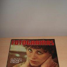 Cine: REVISTA FOTOGRAMAS - Nº1413 - AÑO 1975 -VERONICA FORQUE-AURORA BAUTISTA - 47 PAG.. Lote 48223252