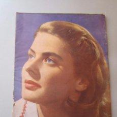 Cine: REVISTA IMÁGENES - CINEMATOGRAFÍA - AÑO III - NÚMERO 21 - ENERO 1947 - INGRID BERGMAN. Lote 48320417