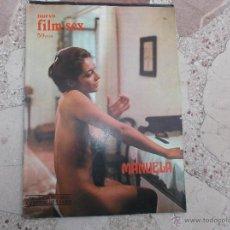 Cine: NUEVO FILM.SEX Nº 16, MANUELA, CHARO LOPEZ, FERNANDO REY, MAXIMO VALVERDE Y CARMEN PLATERO,1977. Lote 275322648