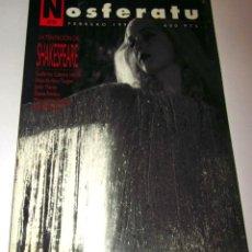 Cine: REVISTA NOSFERATU NÚMERO 8 LA TENTACION DE SHAKESPEARE. FEBRERO 1992. Lote 48391205