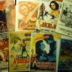 Cine: LOTE REPRODUCCIONES PAPEL ,FOTO,POSTAL, PELICULAS AVENTURAS. Lote 48424140