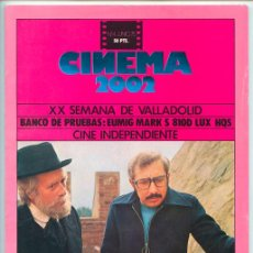 Cine: REVISTA CINEMA 2002 - Nº 4 - JUNIO 1975 SEMANA DE VALLADOLID, GAUDI, LON CHANEY, CINE INDEPENDIENTE. Lote 48492199