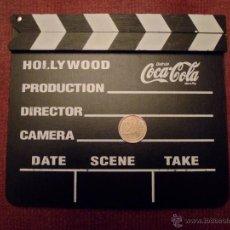 Cinema: CLAQUETA DE CINE PUBLICIDAD DE COCA-COLA. Lote 48544675