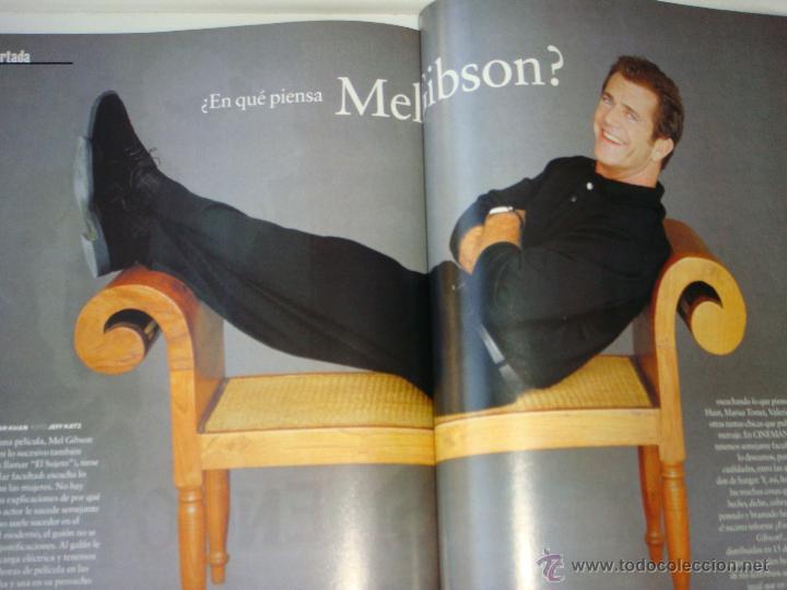 Cine: revista cinemaía nº 67, abril 2001, port. mel gibson - Foto 3 - 48588835