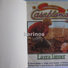 Cine: REVISTA PAPELES DE CINE CASABLANCA DEL Nº 13 A Nº 24 1982 COMPLETO. H1. Lote 48622235