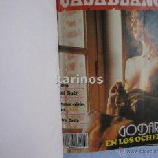 Cine: REVISTA PAPELES DE CINE CASABLANCA DEL Nº 37 A Nº 47 1984 COMPLETO. H1. Lote 48626144