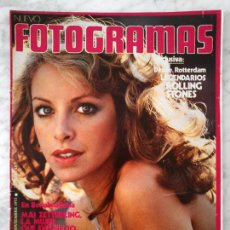 Cine: REVISTA NUEVO FOTOGRAMAS - Nº 1309 - 1973 - ROLLING STONES, MARY FRANCIS, CONCHITA VELASCO. Lote 48705040