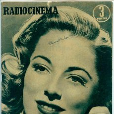 Cine: REVISTA RADIOCINEMA - Nº 234 - 1955 - ELEANOR PARKER, SUCEDIO EN SEVILLA, NINA MARTIN, JIM DAVIS. Lote 48833288