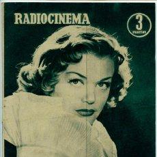 Cine: REVISTA RADIOCINEMA - Nº 235 - 1955 - SIMONE SIMON, JUDY GARLAND, LANA TURNER, CARMEN SEVILLA. Lote 48833337