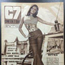 Cinema: REVISTA CINE EN 7 DÍAS - 17 FEBRERO 1968 - NÚMERO 358 - LOLA FLORES.. Lote 48890061