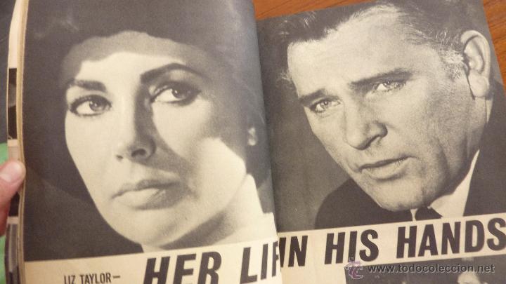 Cine: Revista Hollywood Secrets . Artistas de cine . Sofia Loren Liz Taylor Kennedy años 60 USA - Foto 2 - 48918974
