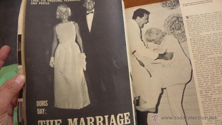 Cine: Revista Hollywood Secrets . Artistas de cine . Sofia Loren Liz Taylor Kennedy años 60 USA - Foto 4 - 48918974