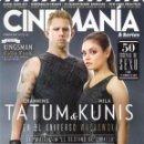 Cine: CINEMANIA N. 233 FEBRERO 2015 - EN PORTADA: EL DESTINO DE JUPITER (NUEVA). Lote 117805931