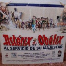 Cine: CINE POSTER CARTON TROQUELADO ASTERIX,140X130 CMS.VER FOTOS. Lote 48934939