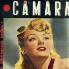 Cine: REVISTA CÁMARA Nº 62 AGOSTO 1945 - LESLIE BROOK - RONALD COLMAN. Lote 48973865