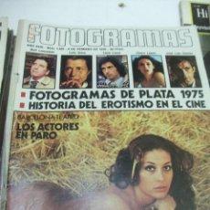 Cine: FOTOGRAMAS Nº 1425 LLUIS LLACH CHARO LOPEZ CARMEN PLATERO BURT LANCASTER. Lote 49002614