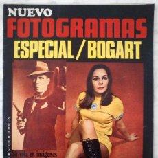 Cine: REVISTA NUEVO FOTOGRAMAS - Nº 1130 - 1970 - ESPECIAL HUMPHREY BOGART, LAUREN BACALL, LOLA HERRERA. Lote 49008503