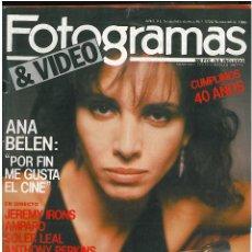 Cine: FOTOGRAMAS ANA BELEN 1986. Lote 49110115
