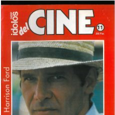 Cine: IDOLOS DEL CINE N 11 HARRISON FORD . Lote 49124351