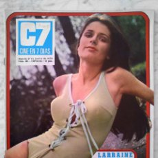 Cinema: REVISTA C7 CINE EN 7 DÍAS - Nº 481 - 1970 - LARAINE HUMPHRYS, SILVANA SANDOVAL, RAYMOND BURR. Lote 49245515