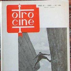 Cine: REVISTA OTRO CINE Nº 48 MAYO JUNIO 1961. Lote 49256980