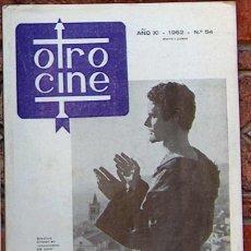 Cine: REVISTA OTRO CINE Nº 54 MAYO JUNIO 1962. Lote 49257062