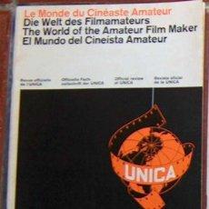 Cine: MUY RARA REVISTA EL MUNDO DEL CINEISTA AMATEURA U.N.I.C.A. Nº 4 FEBRERO 1965 UNICA CINE. Lote 49259989
