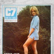 Cine: REVISTA C7 CINE EN 7 DÍAS - Nº 474 - 1970 - FANCY FAIR, GUILLERMINA MOTTA, LINDA HAYDEN, CAROL YEPES. Lote 49250830