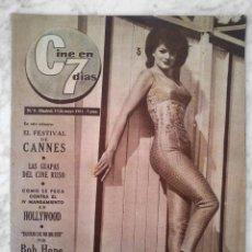 Cinema: REVISTA C7 CINE EN 7 DÍAS - Nº 5 - 1961 - SILVANA SORENTE, FERNANDO FERNÁN-GÓMEZ, CANNES, BOB HOPE. Lote 49287216