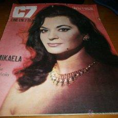Cine: REVISTA C7 - Nº 339 - 1967 MIKAELA. Lote 49352040