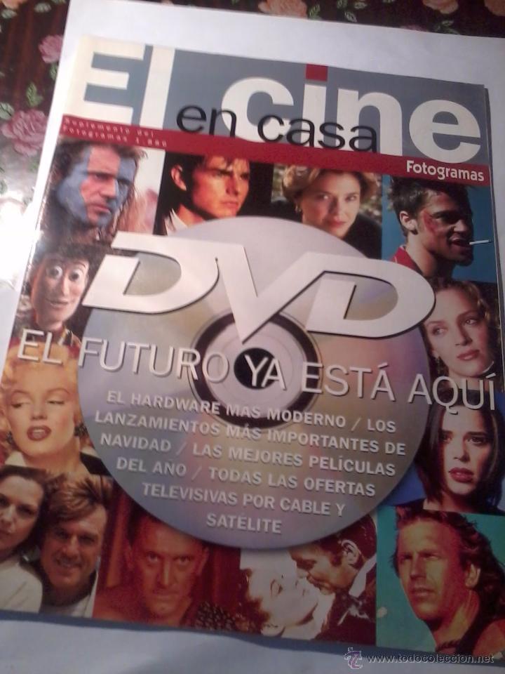 REVISTA FOTOGRAMA SUPLEMENTO EL CINE EN CASA (Cine - Revistas - Fotogramas)
