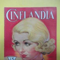 Cine: CINELANDIA. DICIEMBRE 1933. TOMO VII. Nº 11. Lote 49449706