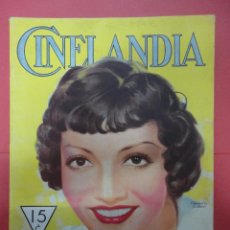 Cinema: CINELANDIA. ABRIL 1933. TOMO VII. Nº 4. Lote 49449998