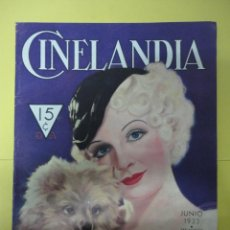 Cine: CINELANDIA. JUNIO 1933. TOMO VII. Nº 6. Lote 49450039