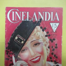 Cine: CINELANDIA. ENERO 1933. TOMO VII. Nº 1. Lote 49450077