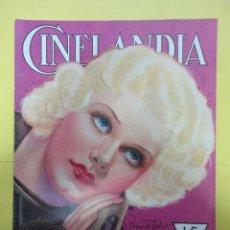 Cine: CINELANDIA. AGOSTO 1932. TOMO VI. Nº 8. Lote 49450380