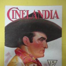 Cinema: CINELANDIA. DICIEMBRE 1932. TOMO VI. Nº 12. Lote 49450455
