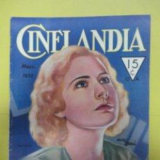 Cinema: CINELANDIA. MAYO 1932. TOMO VI. Nº 5. Lote 49450484