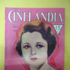 Cinéma: CINELANDIA. ABRIL 1932. TOMO VI. Nº 4. Lote 49450727