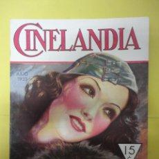 Cinéma: CINELANDIA. JULIO 1933. TOMO VII. Nº 7. Lote 49450958