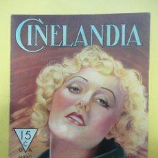 Cine: CINELANDIA. MAYO 1933. TOMO VII. Nº 5. Lote 49451027