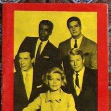 Cinema: FIGURAS DE LA T.V.MISION IMPOSIBLE, EDICIONES ESTE 1964 CUADERNILLO DE 16 PAGINAS. Lote 49475303