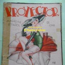 Cinema: PROYECTOR Nº 1, ANTIGUA Y MUY RARA REVISTA DE CINE, AÑO 1935. Lote 49477516