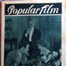 Cine: REVISTA DE CINE POPULARFILM NUMERO EXTRAORDINARIO 1928 48 PAGINAS POPULAR FILM. Lote 49491622